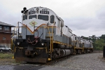 GVT power laying over at Steamtown