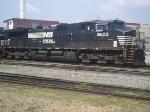 NS D9-40CW 9203 in Columbus, Ga yard