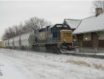 CSX 1506 FIRST SNOW OF THE YEAR