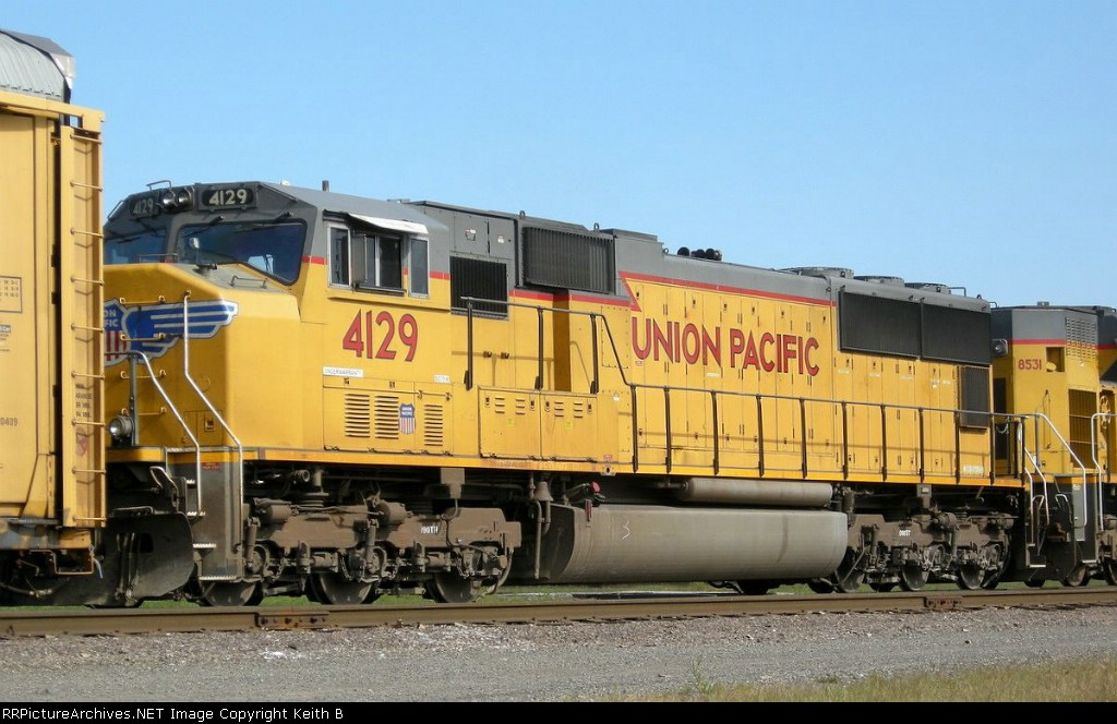 UP 4129