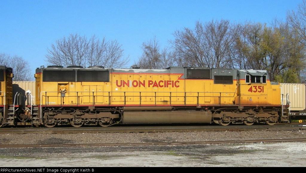 UP 4351