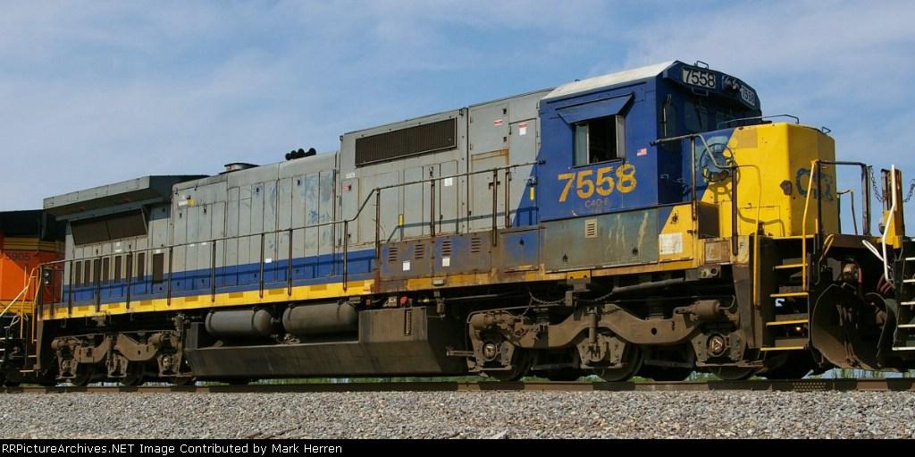 CSX 7558