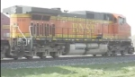 BNSF leading grain train