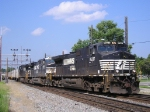 "NS 8937 On NS 251 With Three Jack""s Eastbound"