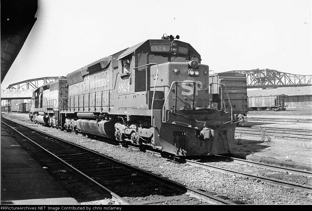 SP 8824 at south end depot 6