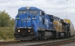 NS C40-8W 8412 leads a UP ES44AC & NS ES40DC