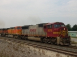 BNSF 8276 and 4167