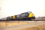 CSX 123 leads mixed freight