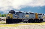 CSX 9993 & 9992 head safety demonstration train