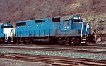 EMD 743 is one of many ex-CR GP38-2's