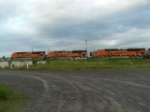 BNSF SD70ACE Trio