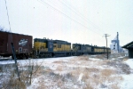 1206-23 Northbound C&NW freight on ex-M&StL