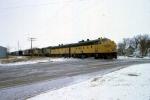 1206-24 Northbound C&NW freight on ex-M&StL