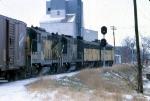 1206-25 Northbound C&NW freight on ex-M&StL