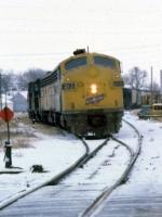 1206-26 Northbound C&NW freight on ex-M&StL
