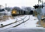 1206-28 Northbound C&NW freight on ex-M&StL