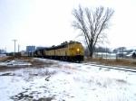 1207-03 Northbound C&NW freight on ex-M&StL