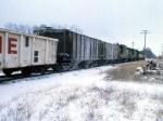 1207-06 Northbound C&NW freight on ex-M&StL