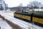 1207-09 Northbound C&NW freight on ex-M&StL