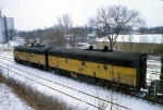 1207-10 Northbound C&NW freight on ex-M&StL