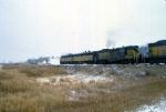 1207-17 Northbound C&NW freight on ex-M&StL
