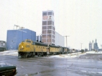 1207-26 Northbound C&NW freight on ex-M&StL