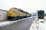1207-31 Northbound C&NW freight on ex-M&StL