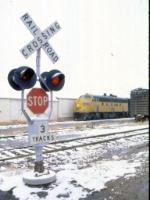 1207-32 Northbound C&NW freight on ex-M&StL