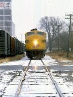 1207-36 Northbound C&NW freight on ex-M&StL