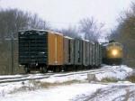 1208-01 Northbound C&NW freight on ex-M&StL