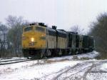 1208-02 Northbound C&NW freight on ex-M&StL