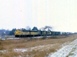 1208-05 Northbound C&NW freight on ex-M&StL