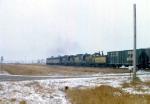 1208-06 Northbound C&NW freight on ex-M&StL