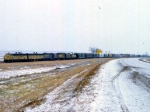 1208-08 Northbound C&NW freight on ex-M&StL