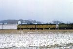 1208-09 Northbound C&NW freight on ex-M&StL