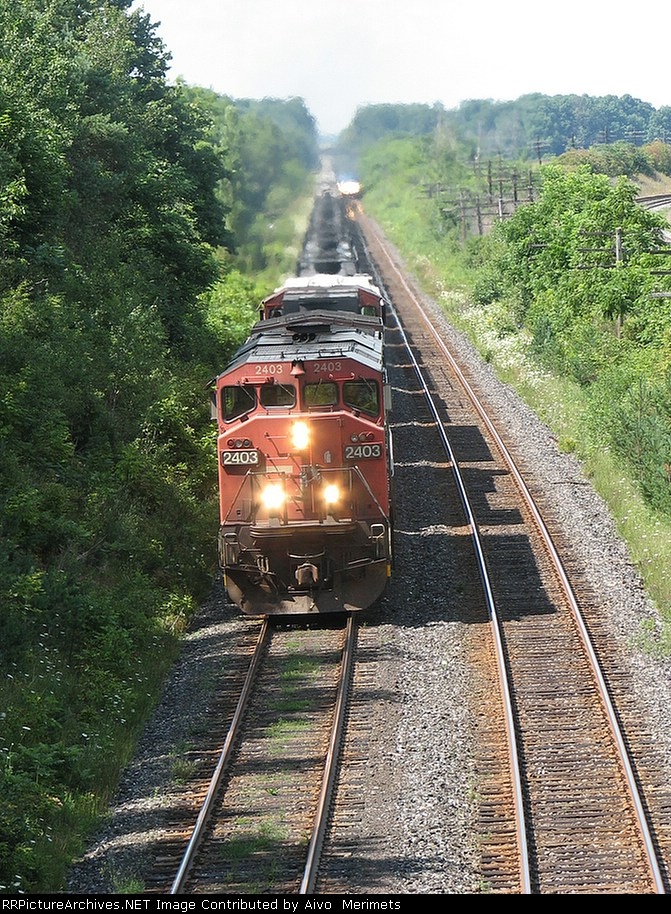 CN 2403 at Mile 5.8 Strathroy Sub.