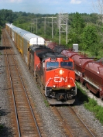 CN 2602 at Mile 55 Dundas Sub.