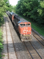 CN 5761 at Woodstock
