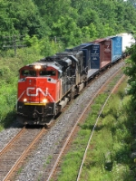 CN 8018 at Mile 5.8 Strathroy Sub.