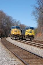 CSX 5350 & CSX 553