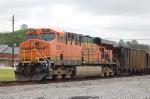 BNSF 5811 pusher
