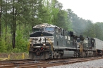 NS 7613 exiting Whittaker Yard