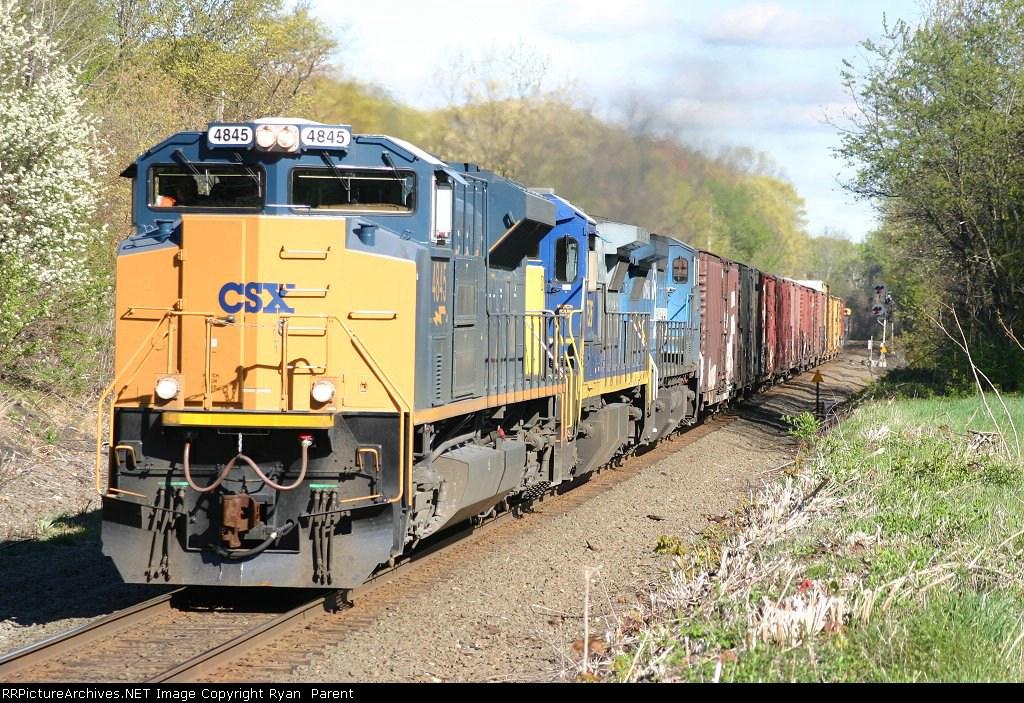 Q437 pulls west