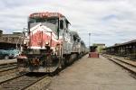 Circus train heading south