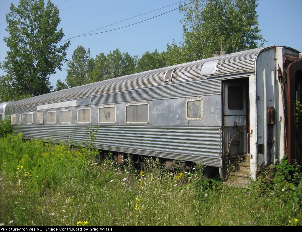 An old passenger car