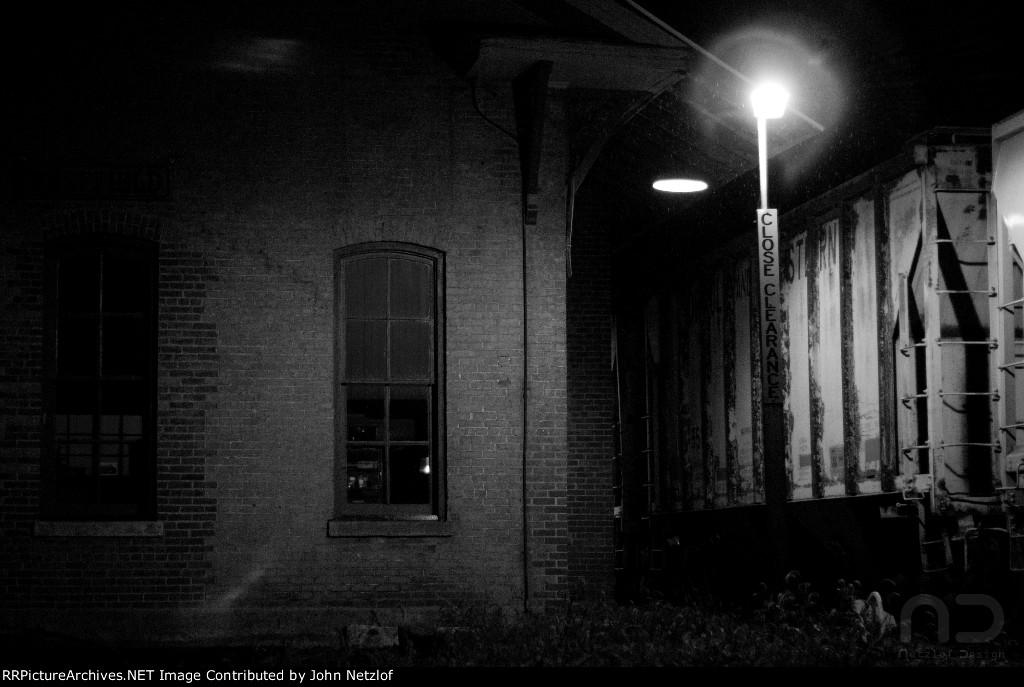 Sheffield Station at Night