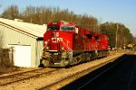 CP Power laying over for teh holiday on the Gainesville Midland