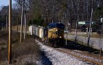 CSX 208 just north of Pendergrass