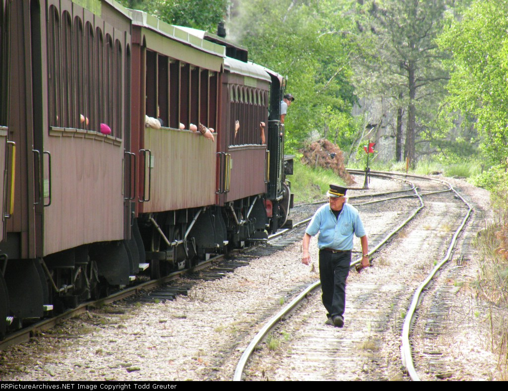 1880 TRAIN / Black Hills Central Railroad