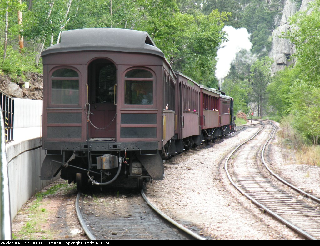 1880 TRAIN / Black Hills Central Railroad Coaches